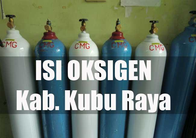 isi oksigen di Kubu Raya