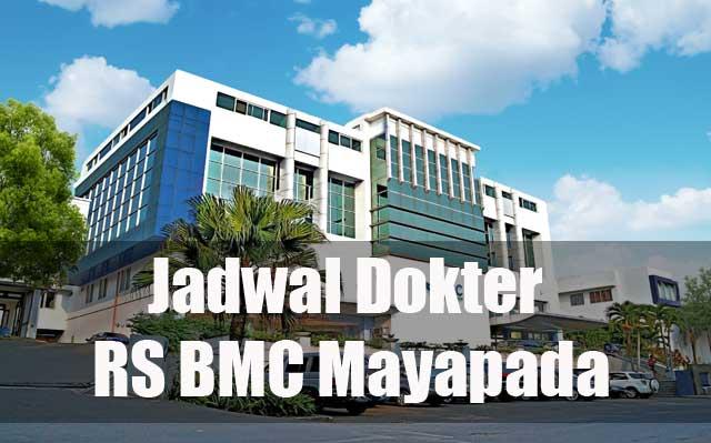 jadwal dokter kandungan RS BMC Bogor