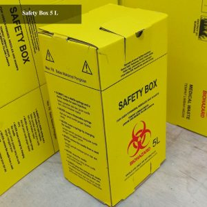 tempat sampah limbah medis safety box
