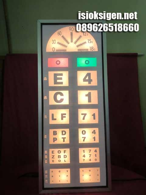 snellen chart electric