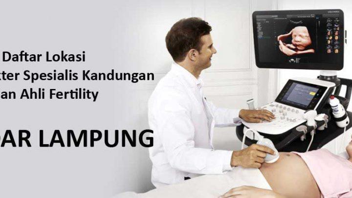 klinik dokter spesialis kandungan di Bandar Lampung