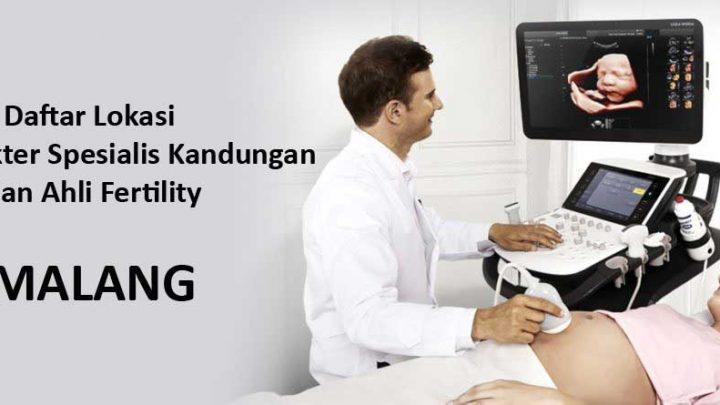 dokter spesialis kandungan di Malang