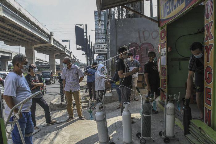 isi oksigen di Bekasi