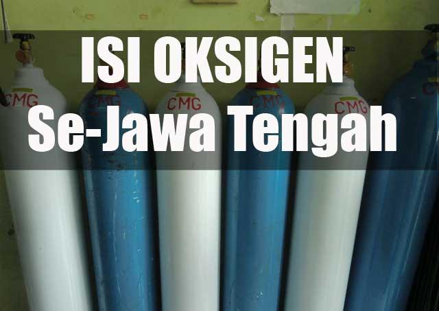 isi oksigen se Jawa Tengah